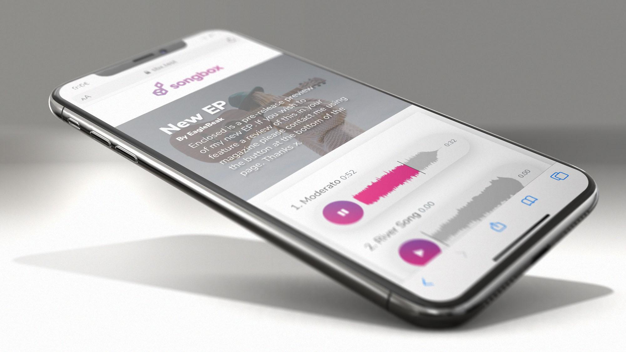 SongBox Mobile Screenshot - Notifications