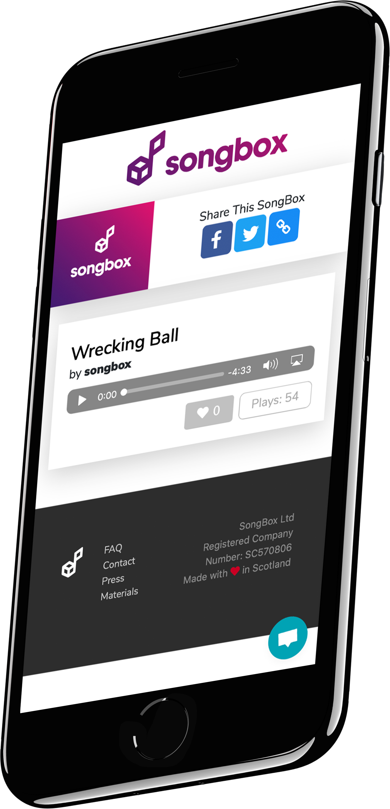 SongBox is the new home for your music online. Clean, clutter free, no bots and no adverts.